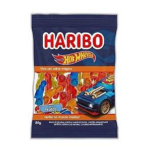 Bala Gel Hotwheels Frutas Sortidas 80g - Haribo