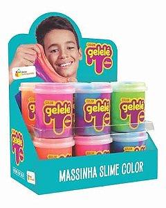 Gelelé Color Slime com 24 unidades de 152g - Doce Brinquedo