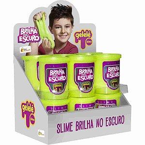 Gelelé Slime Brilha no Escuro com 12 unidades de 110g - Doce Brinquedo