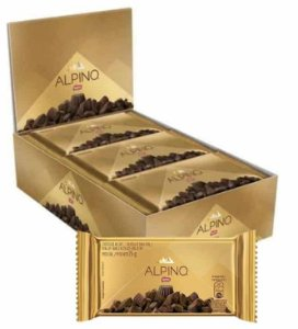 Alpino Chocolate Leite 22 unidades de 25g - Nestle