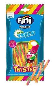 Tubes Regaliz Twister Acido  240g - Fini