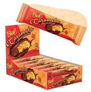 Chocolate caramelo e amendoim 18 unidades de 30g - Bel