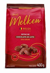 Chocolate Belga em Gotas Melken ao Leite 33% Cacau - Harald