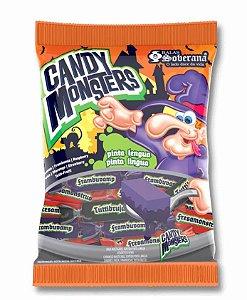 Bala Candy Monsters Pinta Lingua 300G - Soberana