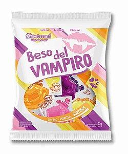 Pirulito Beijo do Vampiro Sabores Sortidos 500g - Soberana