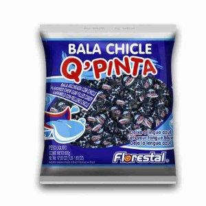 Bala Chiclete Pinta Lingua 500g - Florestal