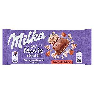 Chocolate Popcorn, pooping candy e Caramel 100g - Milka