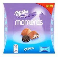 Chocolate Moments Sabor Oreo 92g - 11 Unidades de 8,3g - Milka