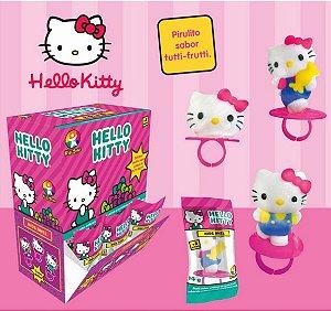 Caixa Pirulito Kids Anel Hello Kitty - 32 unidades de 14g - Kids Zone