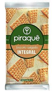 Biscoito Salgado Integral 138g - 6 Unidades de 23g - Piraquê