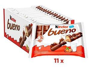 Chocolate Kinder Bueno Ao Leite C/33 unidades  - Ferrero