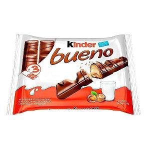 Chocolate Kinder Bueno Ao Leite com 3 unidades de 43g - Ferrero