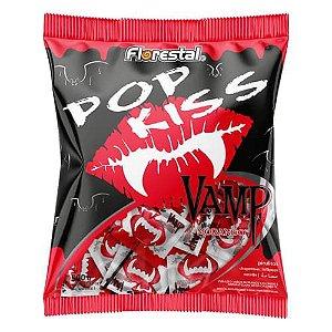 Pirulito Pop Kiss Vampiro 500g - Boavistense