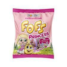 Marshmallows Fofs Twist Sabor Baunilha Princess Florestal 220g