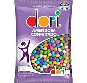 Amendoim Confeitado Colorido 500G - Dori