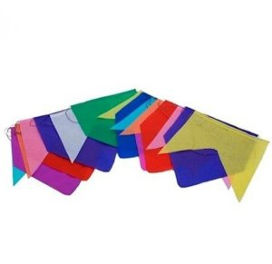 Bandeira -Bandeirola De Plástico 10M