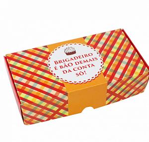Caixa Bridadeiro Bão Demais (8 Doces) - Ideia