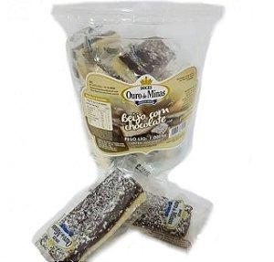 Doce Beijo Com Chocolate 1,050Kg Ouro De Minas
