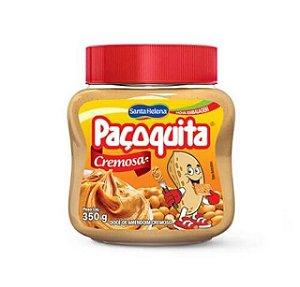 Creme De Amendoim Paçoquita Cremosa Santa Helena - 350G