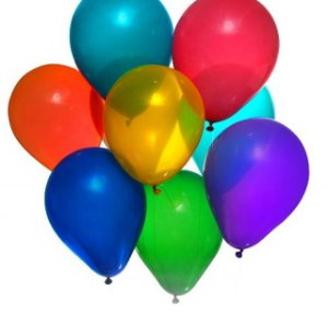 Balão De Latex Nº 7 Sortido C/ 50 Unidades - Art Latex