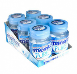 Goma De Mascar Mentos Pure Fresh Mint Bottle C/6 - Perfetti