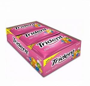 Trident Goma De Mascar Tuti Fruti C/ 21 Un. ADAMS