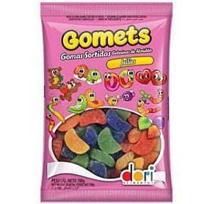 Bala De Goma Gomets Jellies Gomos De Frutas Sortidas 700g - Dori