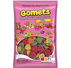 Bala De Goma de Coração sabor Frutas Gomets 700g - Dori