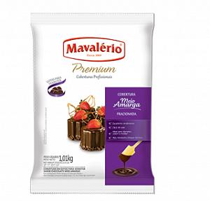 Cobertura Chocolate Premium Gotas Meio Amargo 1,01Kg Mavalério