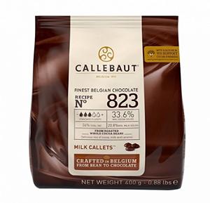 Chocolate Ao Leite 823 33.6% Cacau Gotas 400g- Callebaut