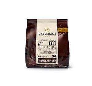 Chocolate Callebaut Amargo 811 54.5% cacau gotas 400g -  Callebaut