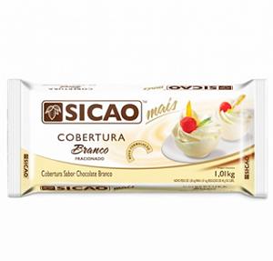 PERDA ZERO - Cobertura Sicao Mais Branco - Barra 1,01Kg Sicao