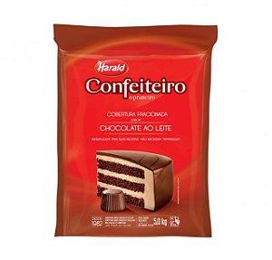 Chocolate Confeiteiro Ao Leite Barra 5,000 Kg Harald