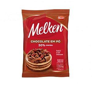 Chocolate Em Pó 50% Melken 1,050 Kg Harald