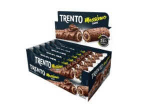Chocolate Trento Massimo Dark Com 16 Un - Peccin