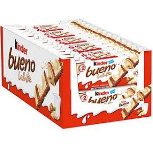 Chocolate Kinder Bueno White 39G C/ 30 Un. Ferrero