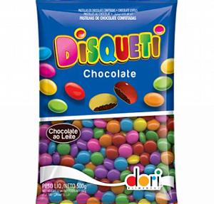 Confeito Chocolate Disqueti 500g - Dori