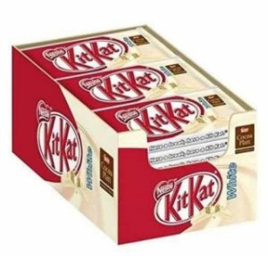 Chocolate Kit Kat Branco Nestlè C/ 24 Un.