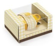 Panelinha Pop Equilibrio Amarela - Cromus