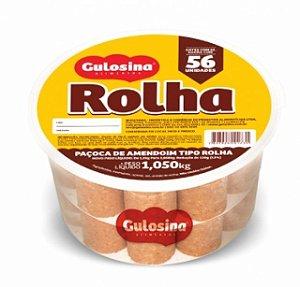 Paçoca Rolha Pote 1,050g com 56 unidades - Gulosina