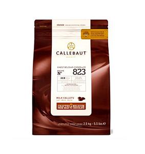 Chocolate Ao Leite 823 33,6% Cacau - Gotas 2,5Kg Callebaut