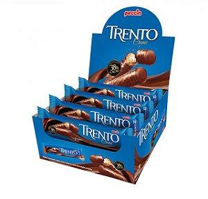 Chocolate Com Wafer Trento Recheio Creme Com 16 Un - Peccin