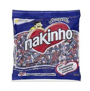 Bala Framboesa Nakinho pacote de 600g - Pennacchi