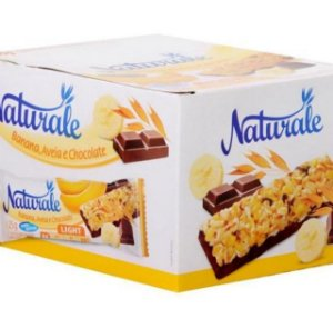 Barra De Cereal Light C/ 24 Un.- Banana Aveia E Chocolate NATURALE