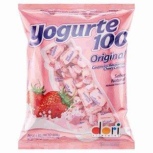 Bala Mastigável Yogurte 100 Original 600g - Dori