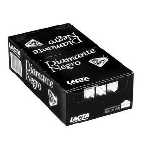 Chocolate Diamante Negro 20g c/20 - Lacta