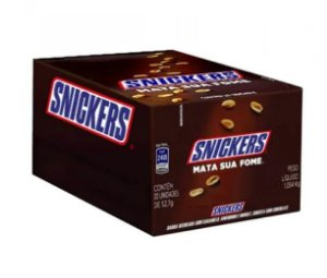 Chocolate Snickers c/20 unidades 45g Mars