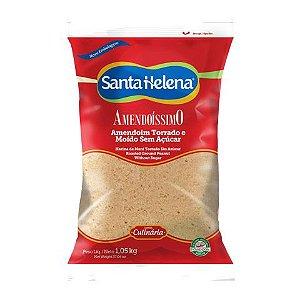 Amendoim Torrado e Moído sem Açúcar 1,01Kg SANTA HELENA