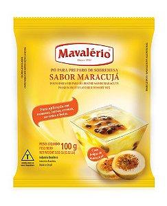 Pó para Sobremesa Sabor Maracujá 100g - Mavalério