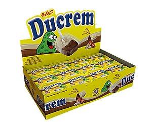 Chocolate Ducrem Avelã 480g com 48 unidades de 10g - Jazam